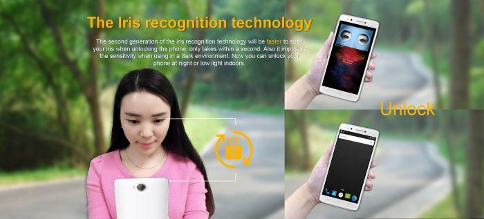 HomTom HT10 получит технологию распознавания радужной оболочки глаз 2-го поколения – фото 1