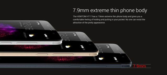 HomTom HT17 с процессором МТ6737, аккумулятором на 3000 мАч с быстрой зарядкой и Android 6.0 уже доступен на AliExpress по $69,99 – фото 1