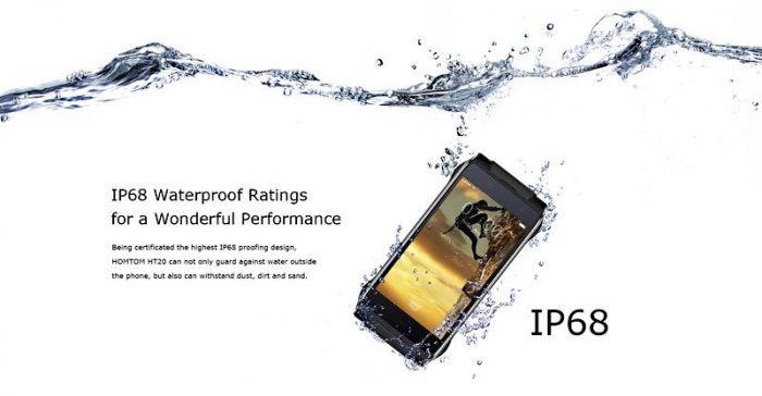 Защищенный смартфон HomTom HT20 с уровнем защиты IP68 готовится к выходу – фото 3