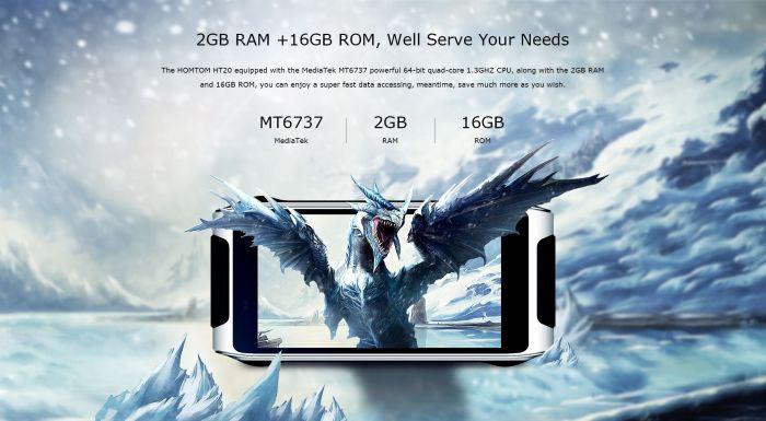 Стильный HomTom HT20 с 4,7-дисплеем и аккумулятором на 3500 мАч оценили в $129.99 – фото 2