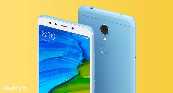 Ничтожно низкая цена на глобальную версию Xiaomi Redmi 5 – фото 1