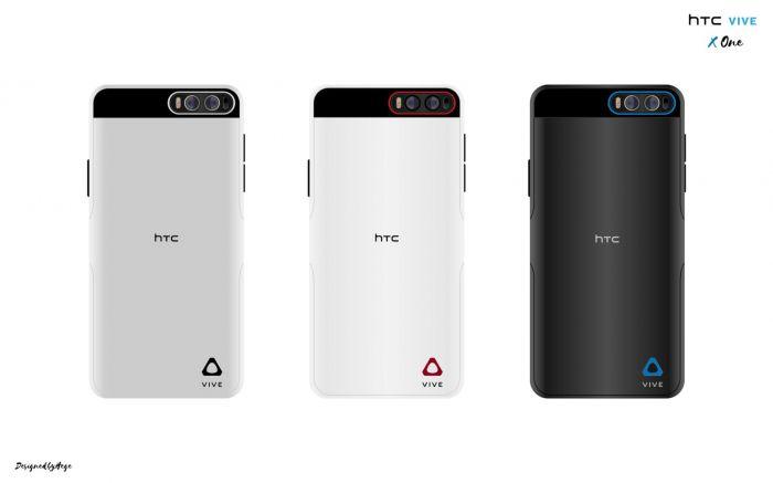 Концепт идеи для будущего HTC Vive X One – фото 1