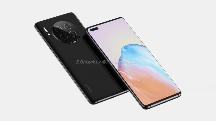 Huawei Mate 40 проявили на высококачественных рендерах