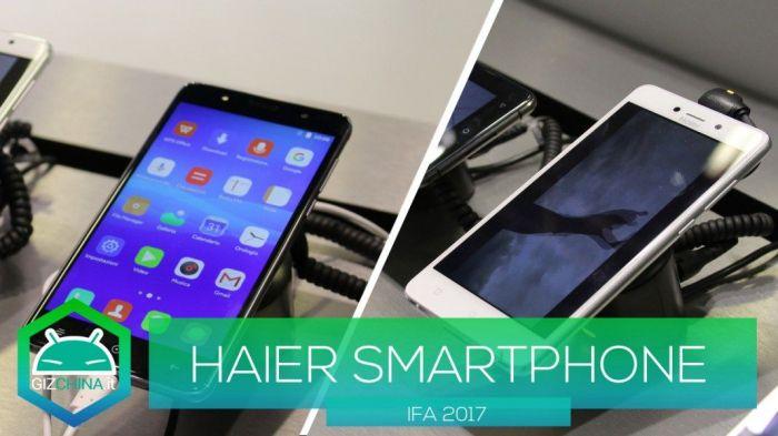 IFA 2017: анонс смартфонов Haier Ginger 7s и Leisure L7 – фото 1