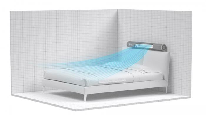 Умный вентилятор способен охладить, согреть и разбудить – фото 3