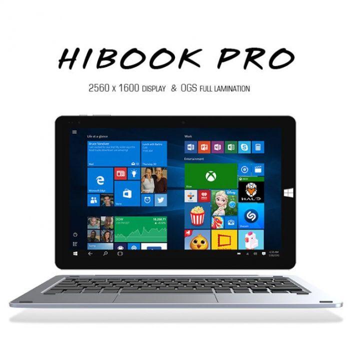 Chuwi HiBook Pro: доработанный и улучшенный планшет с разрешением дисплея 2560х1600 пикселей и аккумулятором на 8000 мАч – фото 3