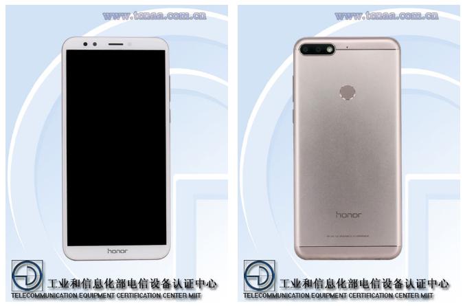 Honor 7C: характеристики смартфона с сайта TENAA – фото 1