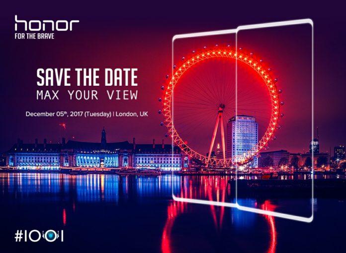 Huawei приглашает на презентацию безрамочного смартфона Honor в Лондон на 5 декабря – фото 1