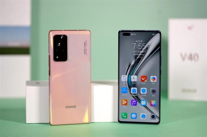 Представлен Honor V40: первый смартфон без Huawei – фото 1