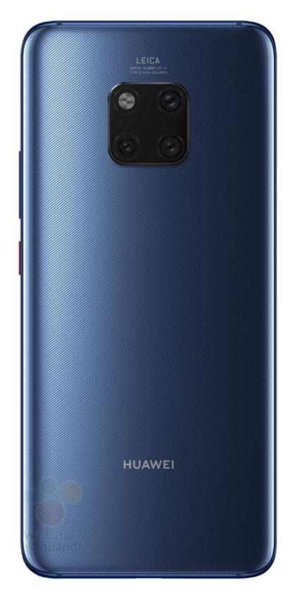 Huawei Mate 20 Pro в трех цветах на официальных пресс-изображениях – фото 2