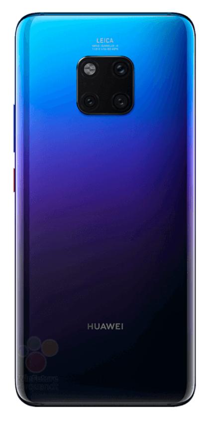 Huawei Mate 20 Pro в трех цветах на официальных пресс-изображениях – фото 1