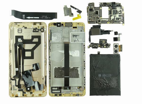 Специалисты разобрали Huawei Mate 9 на части – фото 16