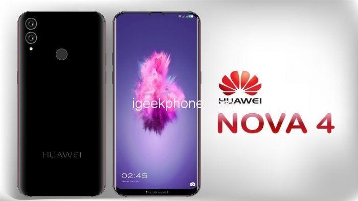 Huawei Nova 4 может получить 4 камеры и флагманского уровня чип – фото 1
