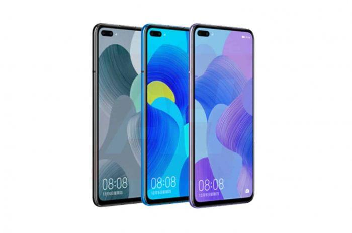 Huawei Nova 6 позируют на рендерах