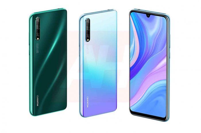 Huawei P Smart 2020 на рендерах