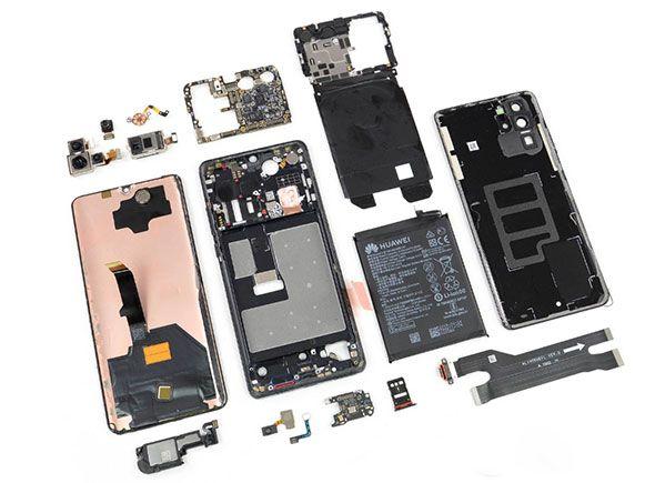 Huawei P30 Pro «анатомировали» и выяснили, сколько комплектующих тут из США – фото 2