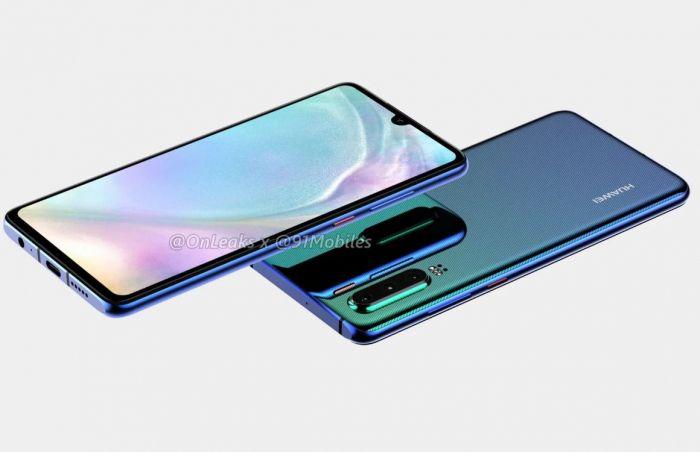 Huawei P30 и Huawei P30 Pro предстали на качественных изображениях – фото 5
