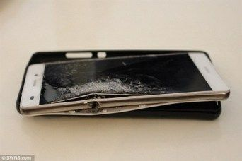 Huawei P8 Lite остановил пулю и спас владельца – фото 2