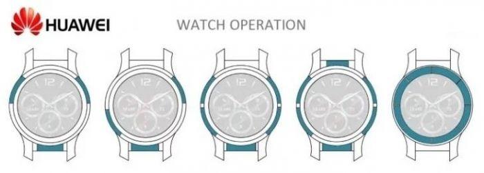 Новые патенты умных часов от Huawei – фото 1