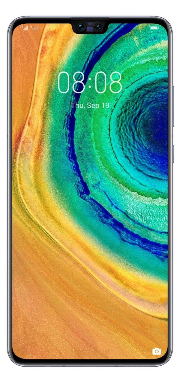 Huawei Mate 30 с плоской матрицей