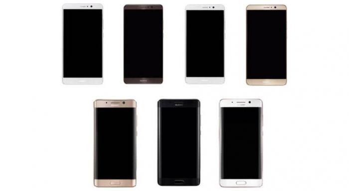 Huawei Mate 9 на снимках в двух версиях с изогнутым и плоским дисплеями – фото 1