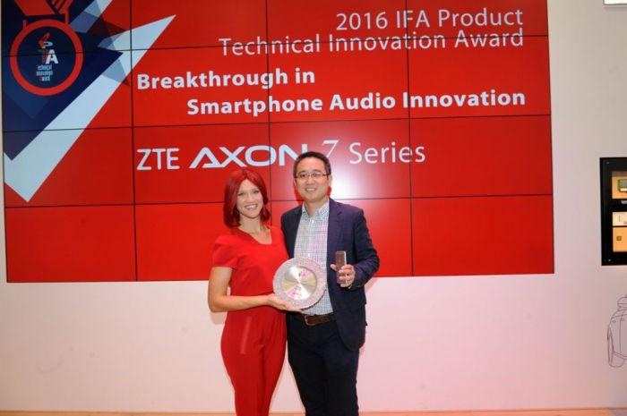 ZTE Axon 7 получил на IFA 2016 премию за инновации в области звука – фото 1