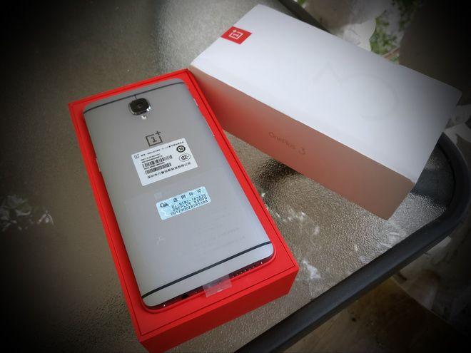 OnePlus 3 box