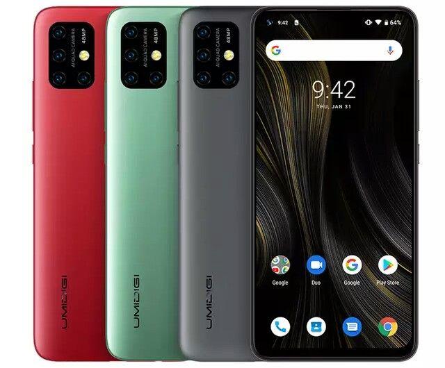UMIDIGI Power 3 предлагает емкую батарейку, NFC и Android 10 – фото 1