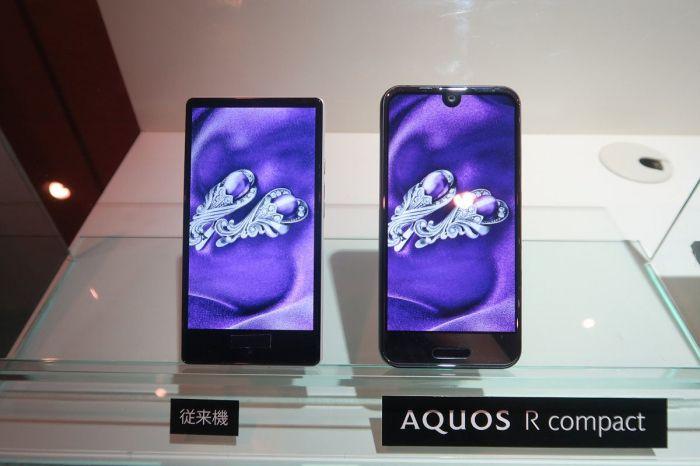 Sharp Aquos R Compact — компактная вариация на Essential Phone – фото 2