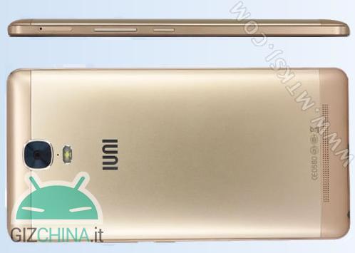 IUNI U0003: анонсирован смартфон с аккумулятором на 5020 мАч и 6-дюймовым AMOLED дисплеем – фото 1