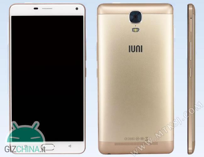 IUNI U0003: анонсирован смартфон с аккумулятором на 5020 мАч и 6-дюймовым AMOLED дисплеем – фото 2