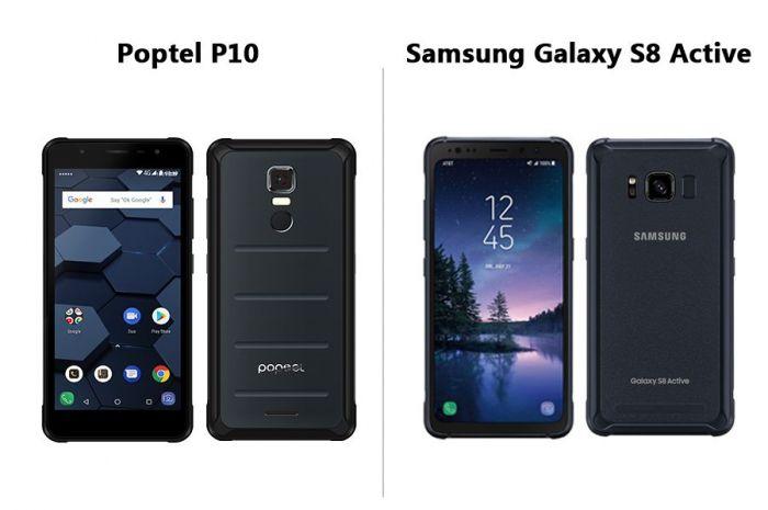 Poptel P10 — для поклонников недорогих и бронированных мобильников – фото 2