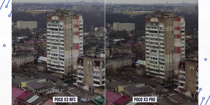 Сравнение фото Поко Икс 3 с Поко Икс 3 Про 4