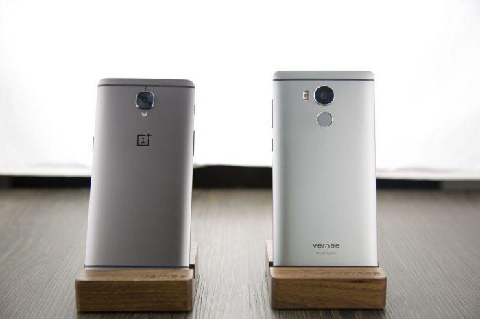 Дизайн Vernee Apollo сравнили с OnePlus 3T – фото 1