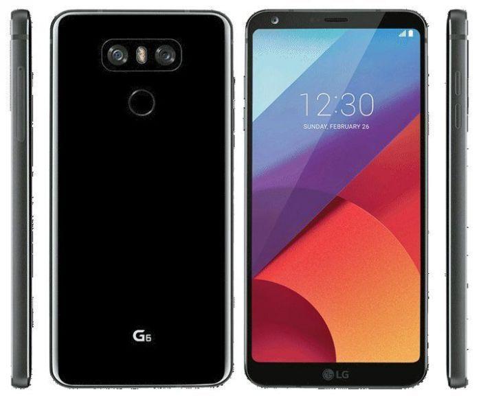 LG G6 на рендере в трех расцветках – фото 2