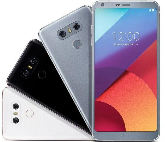 LG G6 на рендере в трех расцветках – фото 1