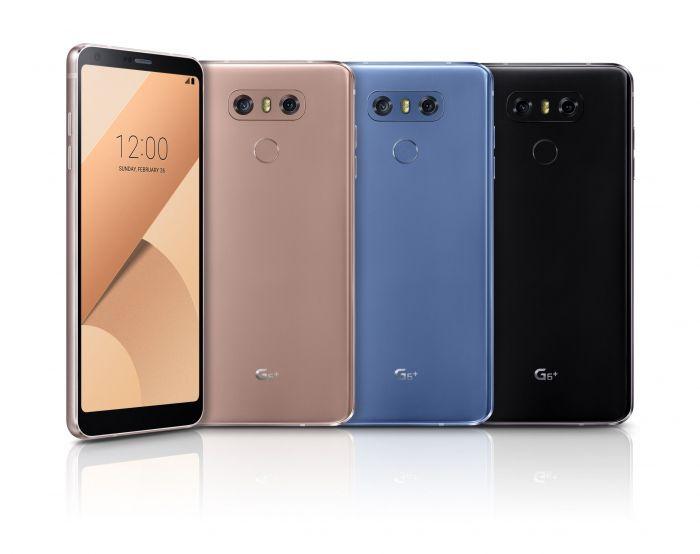 Представлены LG G6 Plus и LG G6 с 32 Гб флеш-памяти – фото 1