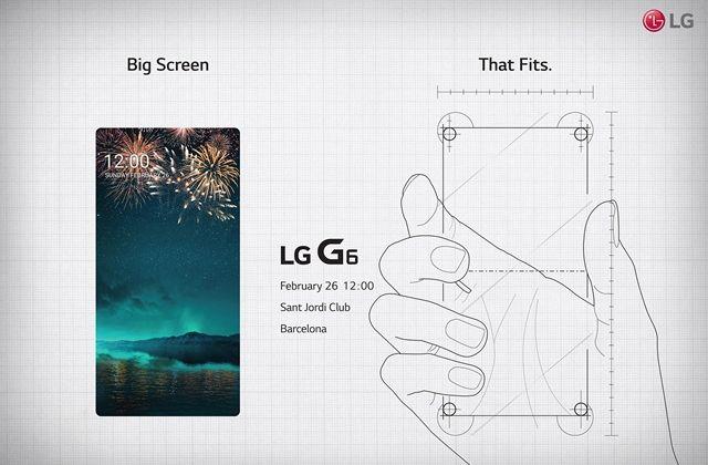 LG G6 на официальном тизере приглашает на презентацию 26 февраля – фото 1