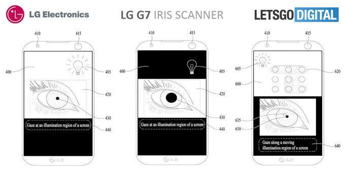 LG G7 получит сканер радужки глаза нового поколения – фото 2