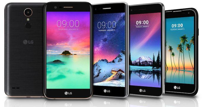 LG объявила сразу пять новых смартфонов – фото 1