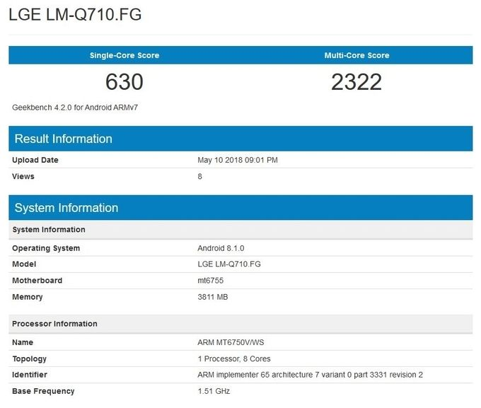 Характеристики LG Q7: кто понимает, что творит LG? – фото 2