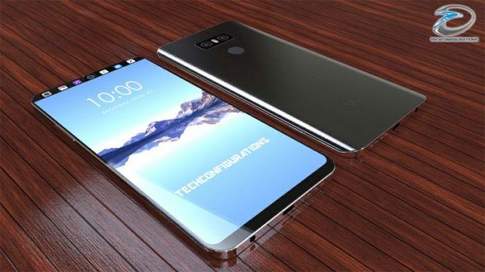 В ожидании выхода в сети опубликовали модный концепт LG V30 – фото 1