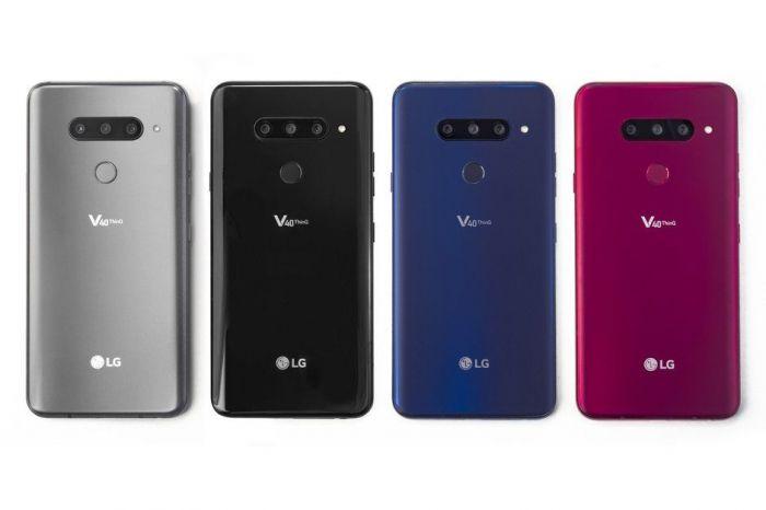 Представлен LG V40 ThinQ: флагман с идеальным звуком, отличным дисплеем и пятью камерами – фото 1
