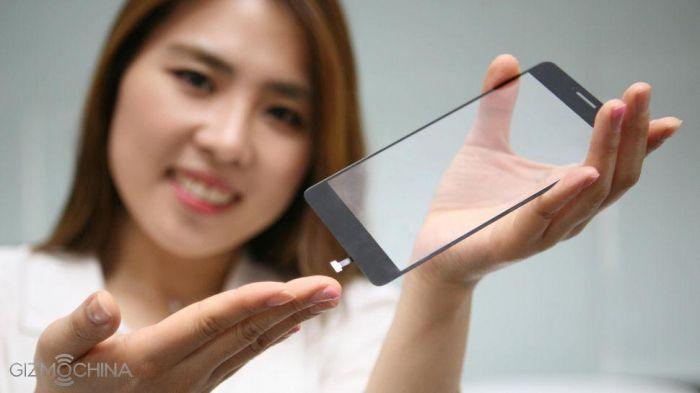 Компания LG разработала встроенный в стеклянную панель сканер отпечатков пальцев – фото 1