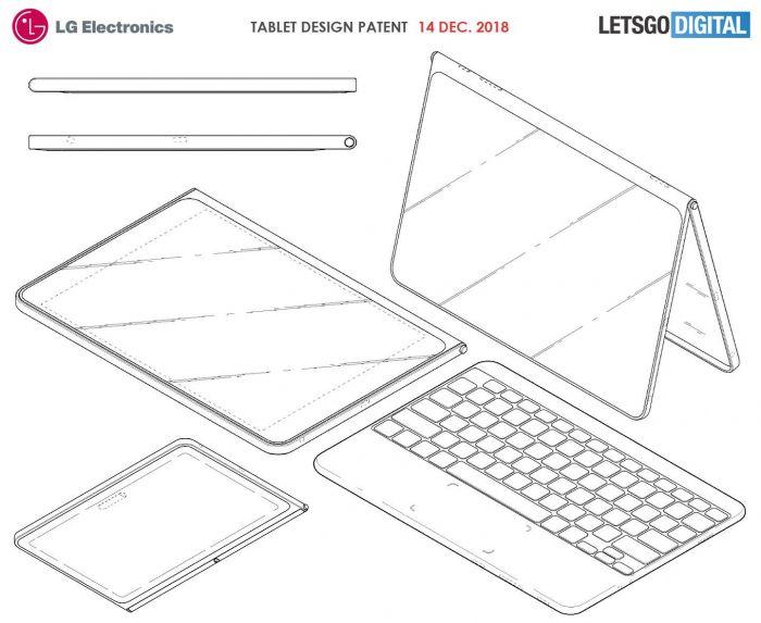 LG патентует планшет, который вы захотите – фото 2