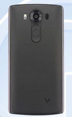 LG V10 тыльная сторона