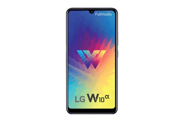 Представлен простой смартфон LG W10 Alpha – фото 2
