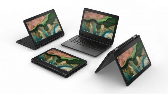 Lenovo объявила о старте продаж Chromebook 100e, 300e и 500e – фото 3