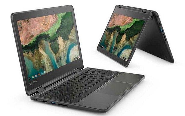 Lenovo объявила о старте продаж Chromebook 100e, 300e и 500e – фото 1