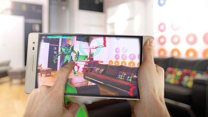 Lenovo PHAB 2 Pro с поддержкой Project Tango выйдет в ноябре – фото 1